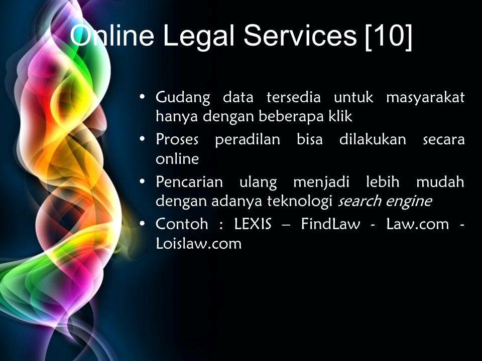 Online Legal Services [10]
